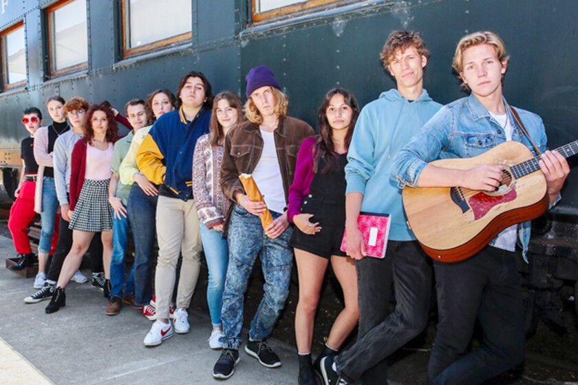 """The cast of """"Tanner Maverick's Book of Sound."""""""