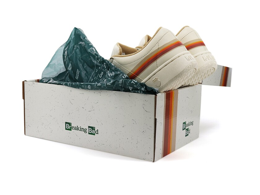 "The K-Swiss X ""Breaking Bad"" ""Recreational Vehicle"" sneaker"