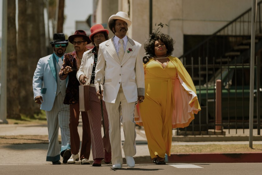 How the 1970s came to the Los Angeles locations in Eddie Murphy's 'Dolemite Is My Name'