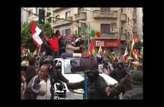 Miles de bolivianos festejan renuncia de Evo Morales