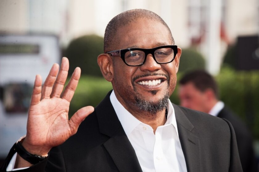 Forest Whitaker's gated property of 1.6 acres includes two homes, as well as a series of living and dining nooks that overlook a swimming pool and spa.