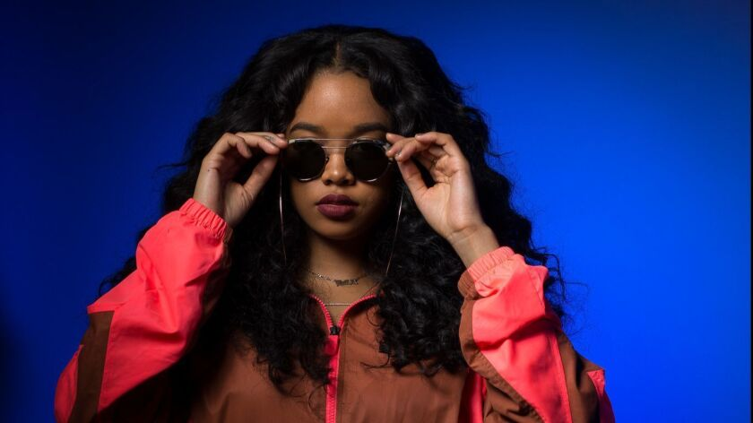 """People want to listen to something they can feel,"" says emerging R&B artist H.E.R. ""Yes, people want to have fun and turn up, but people also want to hear raw, genuine emotions."""