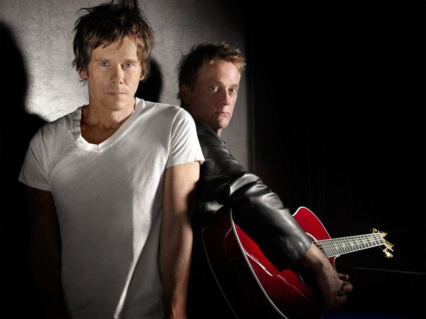 Kevin and Michael Bacon of The Bacon Brothers.