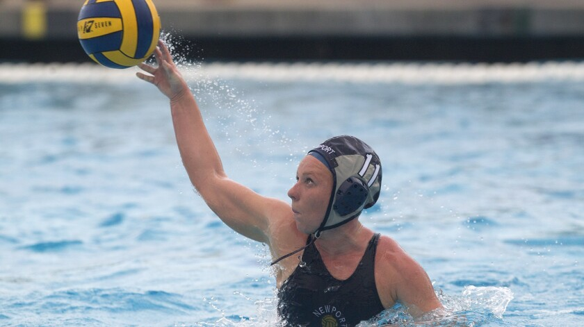 Newport Harbor High's Lissa Westerman shoots the ball during the first half against Foothill in a no