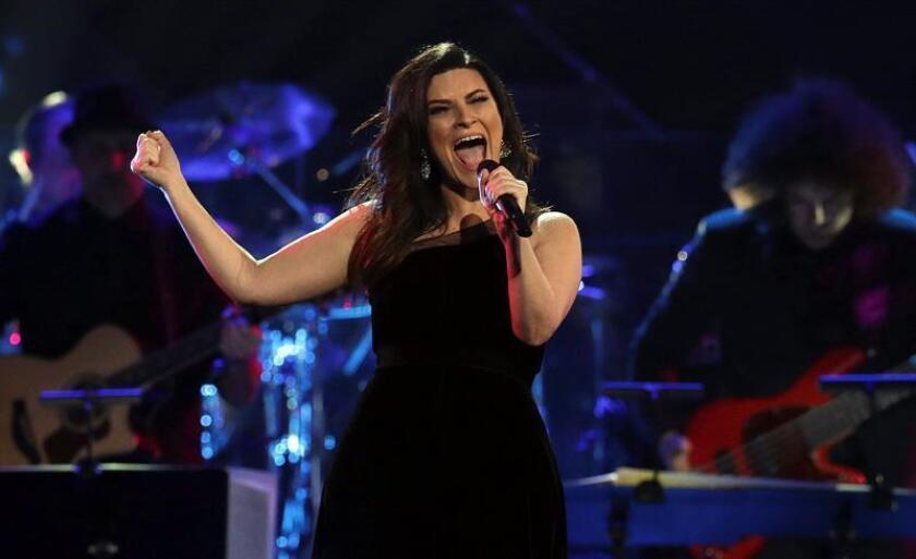 La cantante italiana Laura Pausini durante un concierto. EFE/Archivo