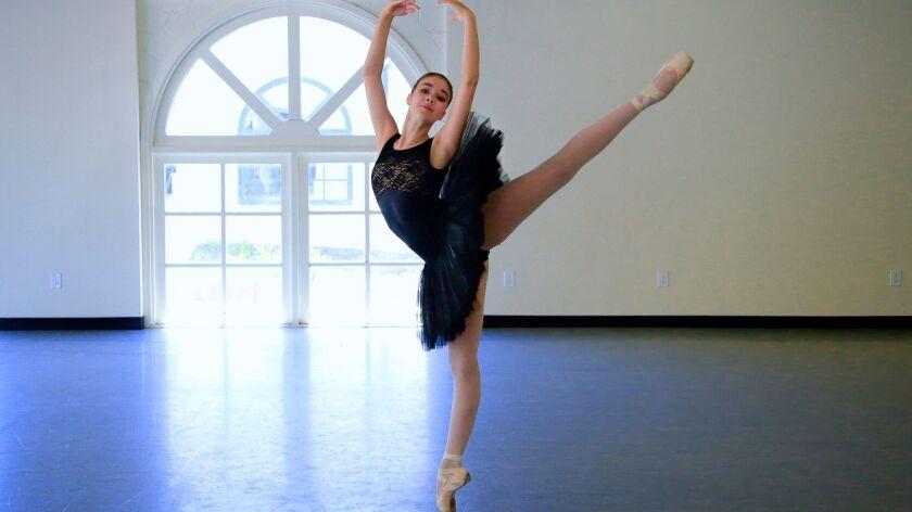 Escondido ballerina, 16, living her New York dreams - The