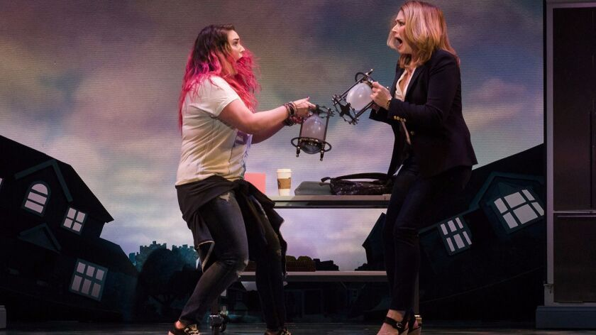 Emma Hunton and Heidi Blickenstaff star in 'Freaky Friday' at La Jolla Playhouse.
