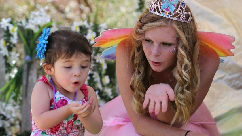 The annual Fairy Festival at the San Diego Botanic Garden is from 10 a.m. to 4 p.m. on June 23 in Encinitas.