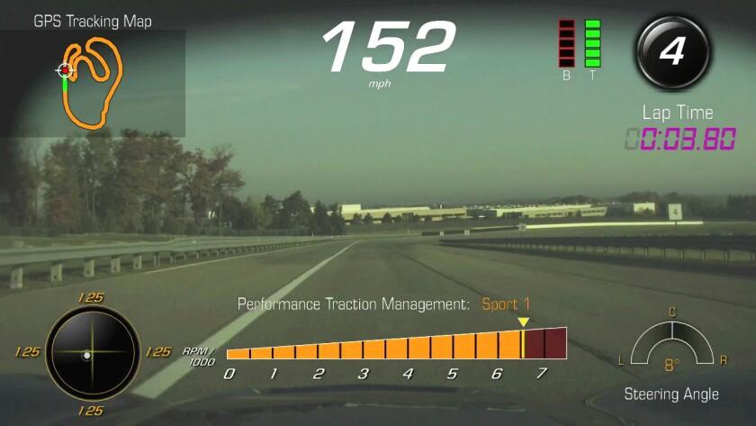 Chevrolet performance data recorder