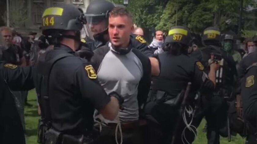 Arrests of white power leaders are a reminder of Huntington