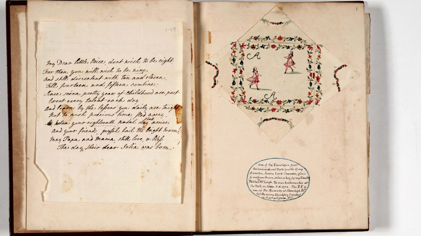 Leigh Family Papers, unpublished letters and manuscripts from Jane Austen's mother's family, 1686-1823, 1866.