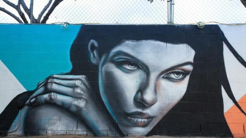 A mural at SILO in East Village by Carly Ealey. (Courtesy photo)