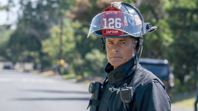"""Rob Lowe stars in the spinoff drama """"9-1-1: Lone Star"""" on Fox."""