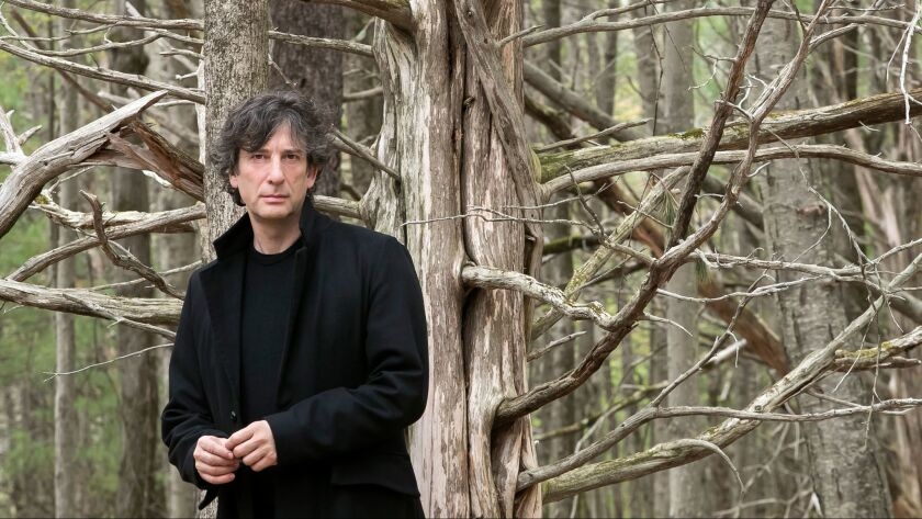 Neil Gaiman wields Thor's hammer in 'Norse Mythology' - Los Angeles