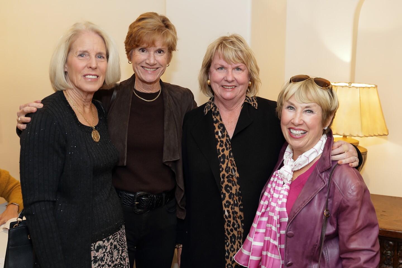 Kathy Stumm, Kate Williams, Kathy Cash, Ann Rible