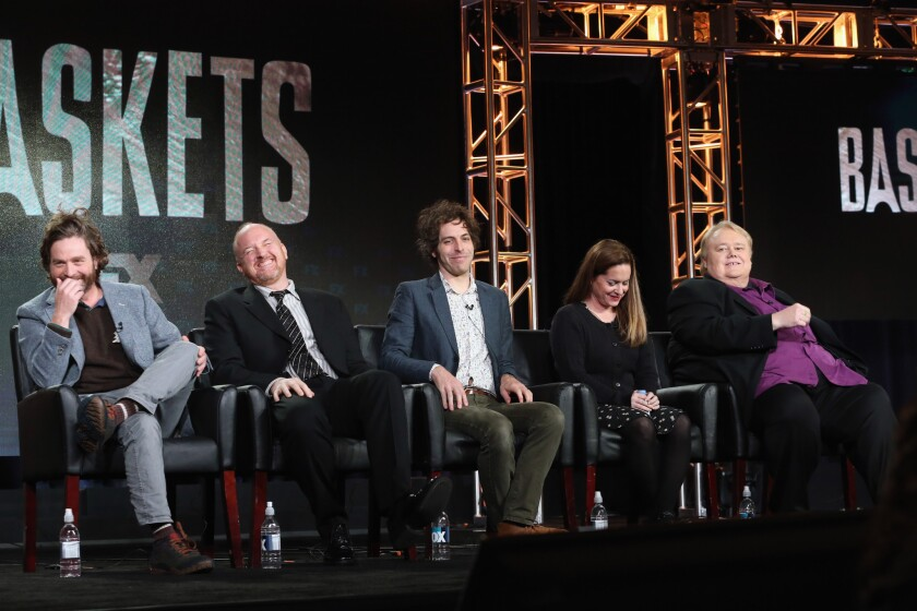 """""""Baskets"""" at the 2016 Winter TCA tour"""