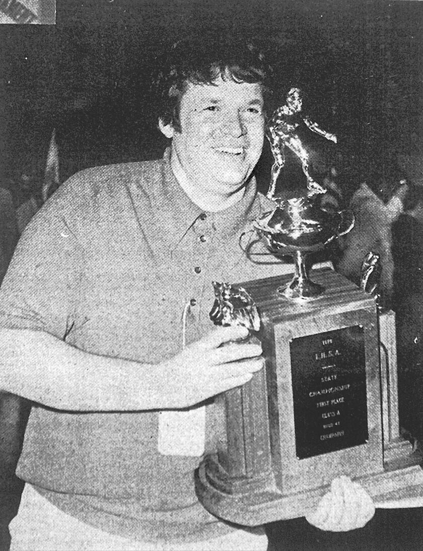 J. Dennis Hastert, 1976