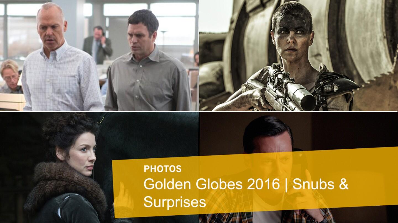 Golden Globes 2016 | Snubs and surprises