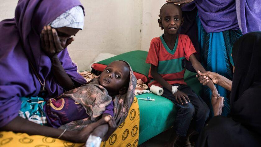 Famine looms over Somalia