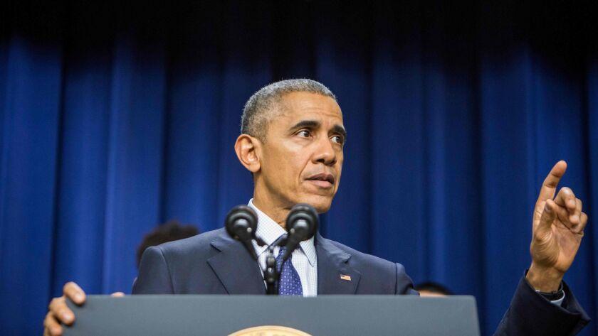 President Obama in Washington on Dec. 14.