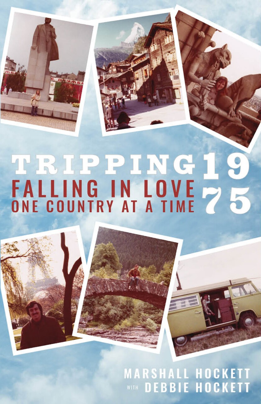 """The cover of """"Tripping 1975, Falling in Love One Country at a Time."""""""