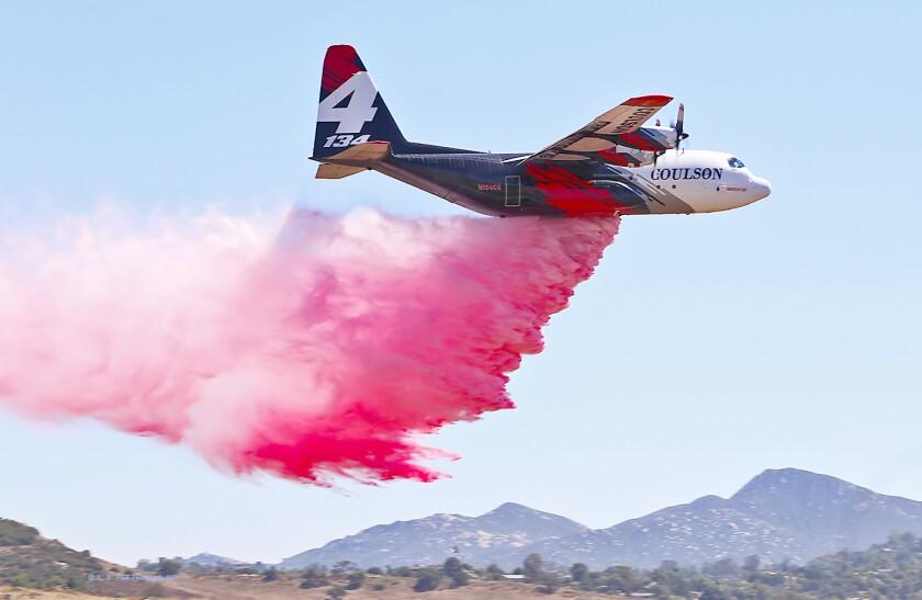 Coulson Aviation C-130 firefighting plane