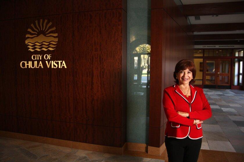Incoming Mayor Mary Salas, the city's 40th mayor