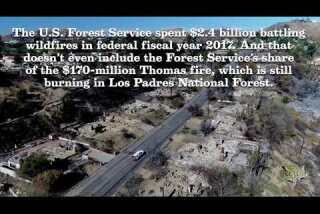 The high cost of battling wildfires