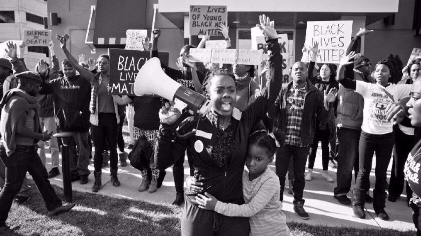 "Brittany Ferrell in ""Whose Streets?"""