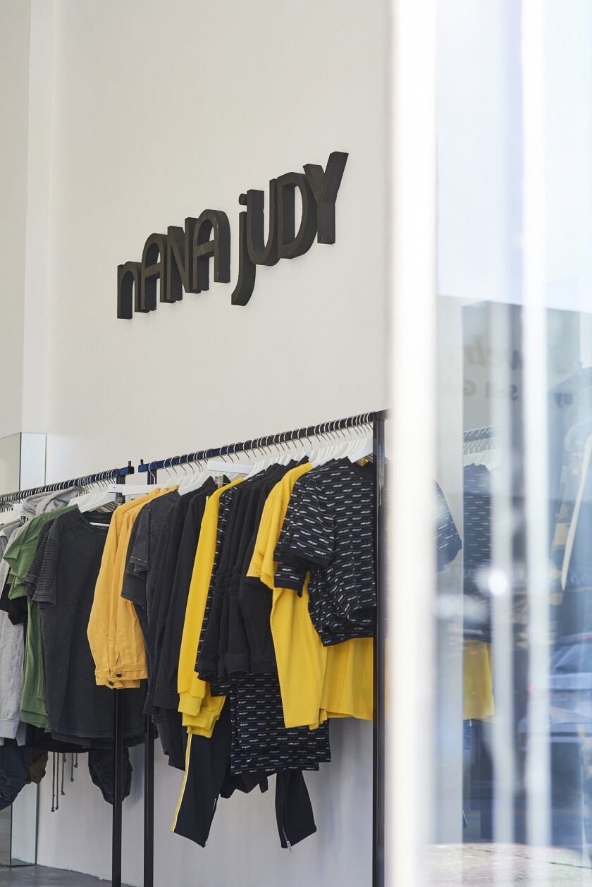 Nana Judy Australian brand Nana Judy chose Los Angeles for its first US outpost; the store opened i