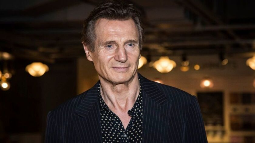 Actor Liam Neeson asserted that he's not racist when asked about a controversial new interview.