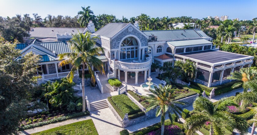 Bob Turley's former Florida mansion