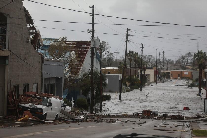 Hurricane Michael made landfall Wednesday as a Category 4 storm.