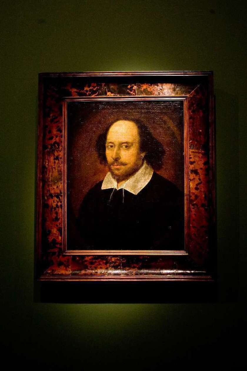 William Shakespeare, seen in this portrait believed to have been painted by John Taylor between 1600 and 1610, will be the focus of a new PBS series in which celebrity hosts take in-depth looks into several of his plays.