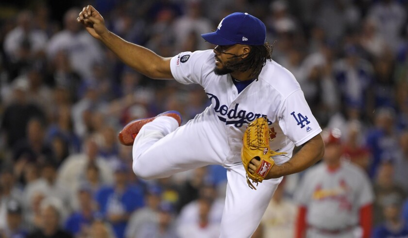 The Dodgers are getting closer Kenley Jansen ready for the playoffs by not pitching him in certain save situations over the next six weeks.