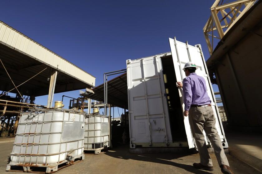EnergySource geothermal plant