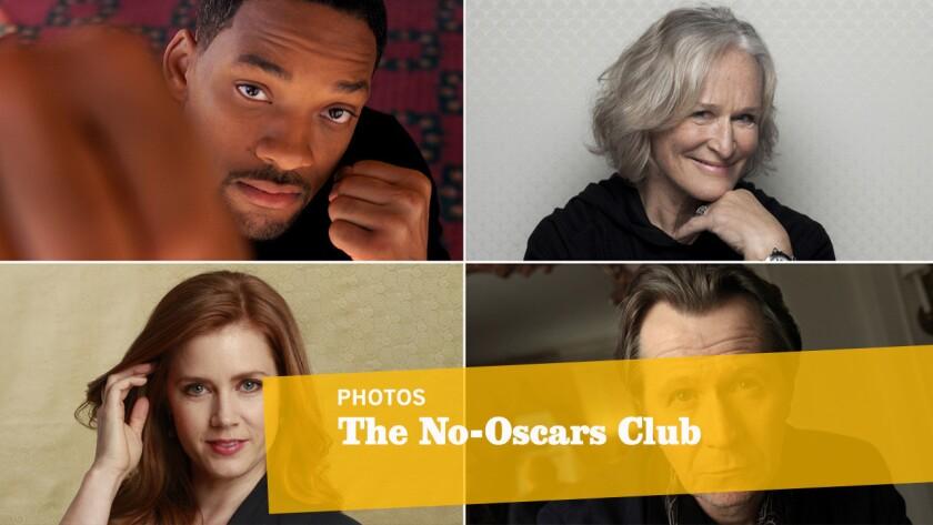 The No-Oscar Club