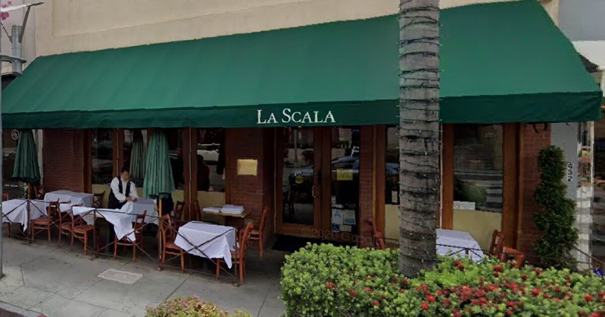 La Scala in Beverly Hills sorry for 'discreet' dinner invite - Los Angeles Times