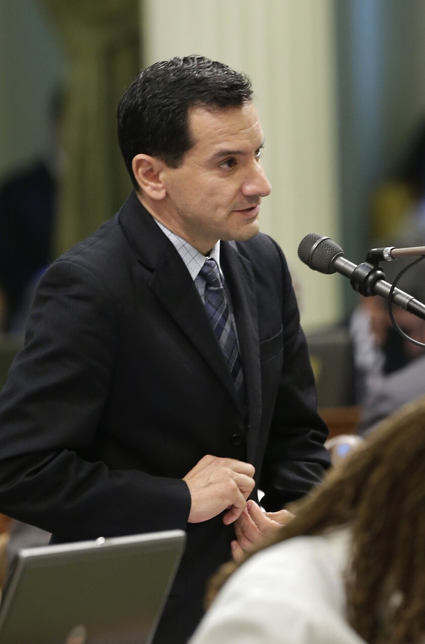 Assemblyman Anthony Rendon, D-Lakewood, has been chosen by fellow Democrats to be the next house speaker.