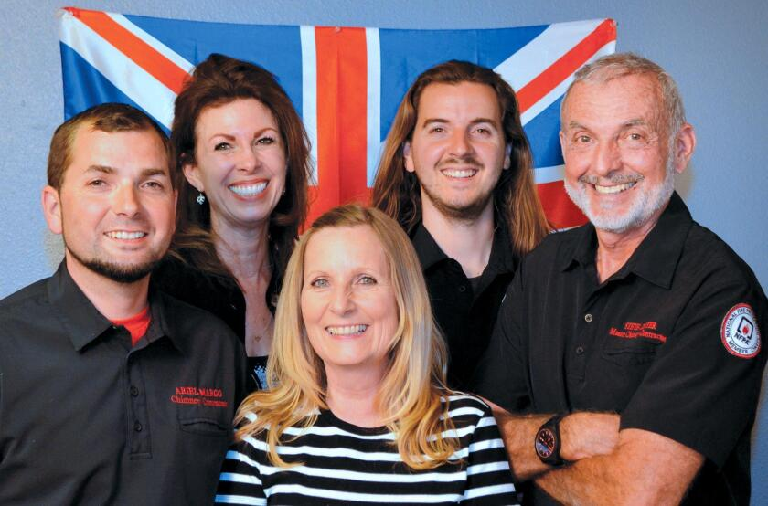 Chimney Sweeps, Inc. was founded in 1985 by master sweep Steven Carter, and today his company includes his wife Valerie, sister Georgia and two sons, Ariel and Julian.
