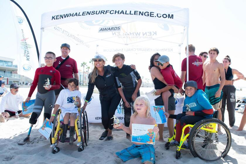 In the past three years, the Ken Whalen Surf Challenge has brought together more than 600 young surfers.