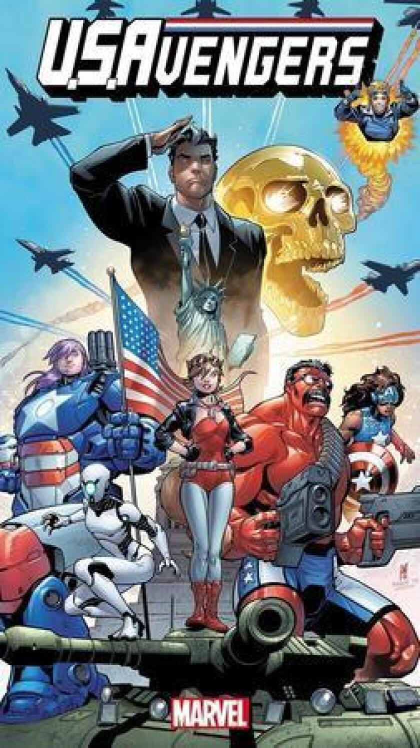 Marvel Comics will debut some of its latest comics at San Diego Comic-Con 2016. Pictured: U.S.Avengers No.1, art by Paco Medina. (Marvel Comics)