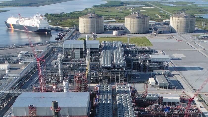 The Cameron LNG facility in Hackberry, Louisiana