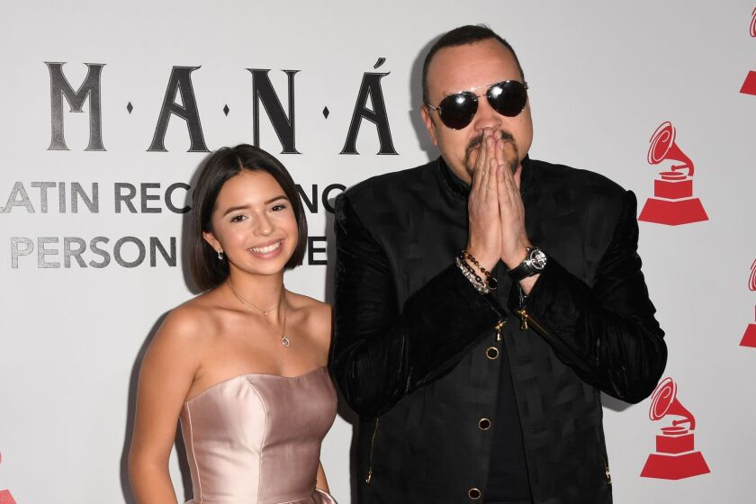 US-ENTERTAINMENT-MUSIC-LATINGRAMMY-POTY-ARRIVALS