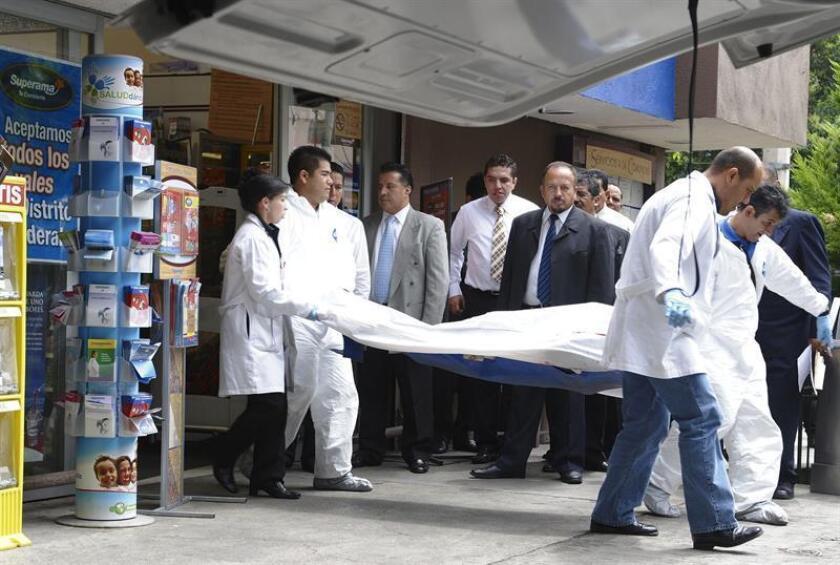 Las autoridades mexicanas investigan la muerte hoy de cuatros hombres en un tiroteo en la delegación (distrito) de Iztapalapa, en el oriente de Ciudad de México, informó la fiscalía capitalina. EFE/ARCHIVO