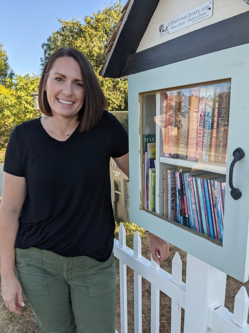 Kaarin Heap is an elementary school library technician who loves to read and share stories.