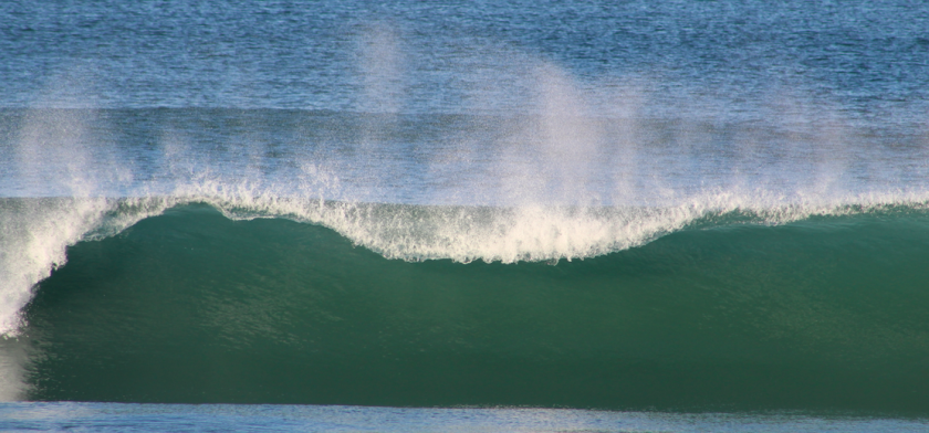 The surf will be in the 5-foot to 7-foot range on Monday in South County5