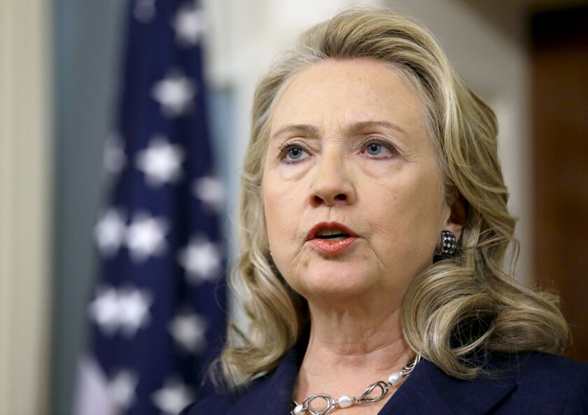 Hillary Rodham Clinton in Washington in 2012.