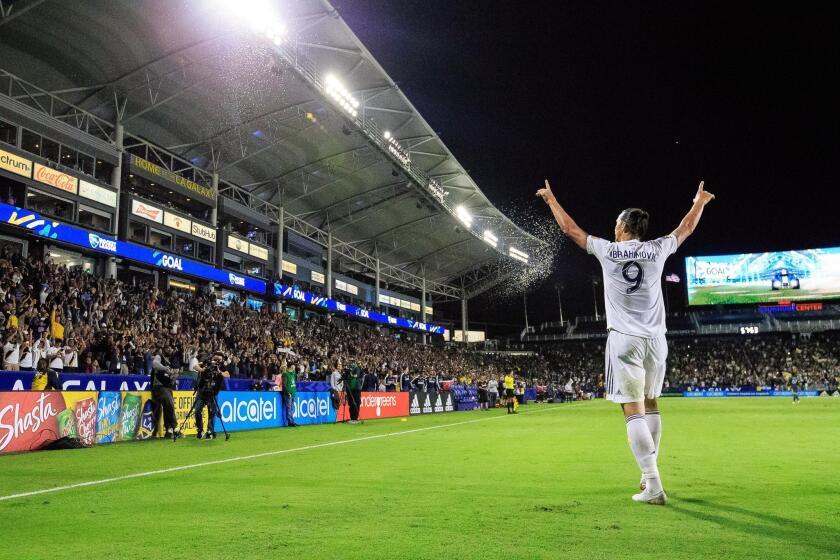 Ibrahimovic volver? con el Galaxy la pr?xima temporada