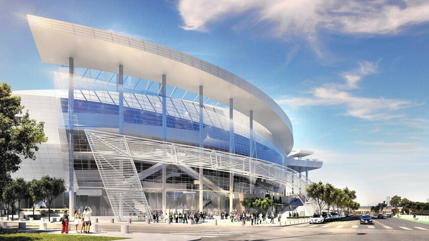 The Golden State Warriors' proposed new center at Mission Bay.